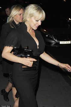 Dessred up: Wearing a jet-black LBD, the Lincolnshire-born star cut a dash as she left the. Sheridan Smith, Leaf Tv, Tousled Hair, Choice Awards, Best Actress, Lbd, Leather Skirt, Actresses, Star