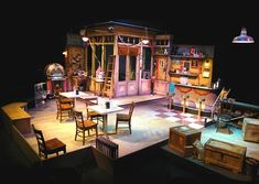 Scene Design: Model and Production for Come Back to the Five and Dime, Jimmy Dean, Jimmy Dean. Stage Set Design, Set Design Theatre, Prop Design, Design Set, Design Model, Principles Of Design, Scenic Design, Screen Design, Portfolio Design