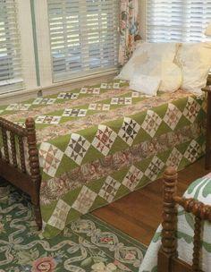 Ohio Star Chintz Quilt Pattern Pieced V | eBay