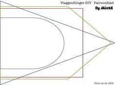 By MiekK: DIY - FeestSlinger van Stof