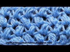 ▶ Crochet Bean Stitch - YouTube