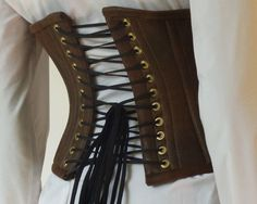 An Instructable on how to make this corset... someday... I can hope, right?