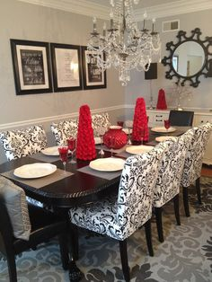 Pinh2M Architects  Engineers On Interior Design  Pinterest Classy Grey And Red Dining Room Inspiration