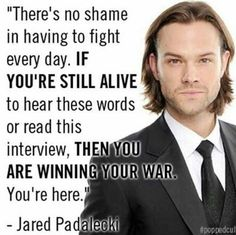 Thanks Jared Padalecki