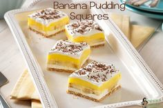 Banana Pudding Squar
