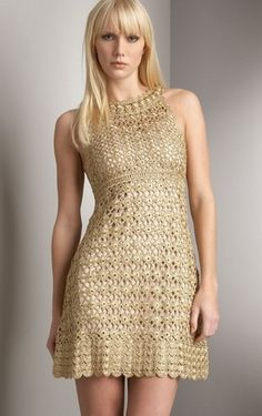 un-separated crocheted dress pattern