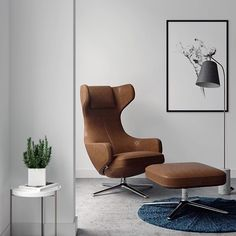 Looks like @JATZIRI_PERLA has visualized the perfect place for resting with a book in hand! It features the Grand Repos armchair by @vitra and Line Floor Lamp by @norr11. What's your reading setup? #CG #CGI #Rendering #insta_render #renderbox #Vitra #Norr11 #3dsMax #CoronaRenderer #3dmodeling #DesignConnected