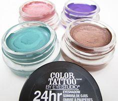 Maybelline Eye Studio Color Tattoo Eyeshadows