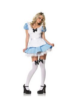 Blue Alice Girl Costume