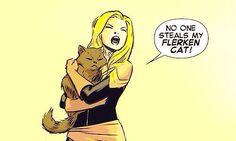 Carol Danvers. Captain Marvel is my hero.