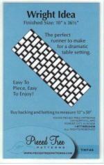 Tiny Ones Pattern: Wright Idea Tree Quilt Pattern, Mini Quilt Patterns, Card Patterns, Tree Patterns, Quilting Patterns, Table Topper Patterns, Quilted Table Toppers, Table Runner Tutorial, Table Runner Pattern