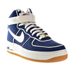 new style 50f6a 84a75 Nike Air Force 1 High 07 LV8 Men s Binary Blue Sail Black Light Brown