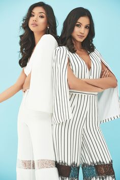 Cape Details Cape Jumpsuit, Strappy Sandals Heels, Lace Insert, Perfect Fit, Wide Leg, Ruffle Blouse, Romance, Legs, Detail