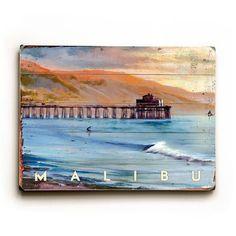 (32) Fab.com | Malibu Pier 20x14