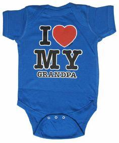 Amazon.com: Onesie Unisex-Baby I Love My Baby Onsie: Clothing