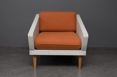 Concrete furniture by Morgan&Moller. Pillows covered in Norma wool from Dekoma. #furnituredesign