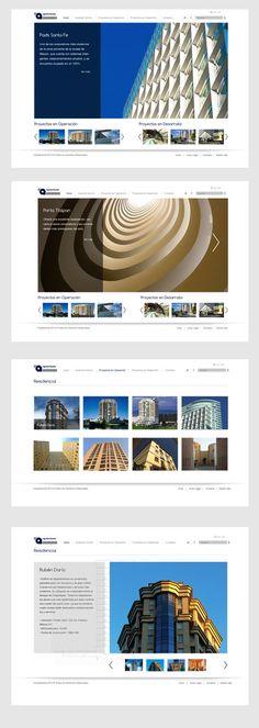 Éste es un desarrollo de diseño web para Arquitectoma que realizamos