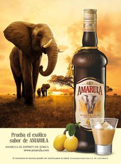 Amarula cream liqueur------Yummy. I love this