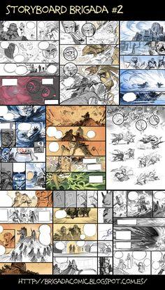Brigada#2 Storyboard at half way. by EnriqueFernandez.deviantart.com on @deviantART