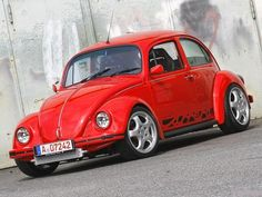 Origem do German look - Fusca4ever