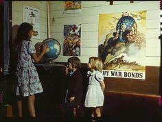 These images, by photographers of the Farm Security Administration/Office of War Information, are some of the only color photographs taken of the effects of the Depression on America's rural and small town populations. The photographs are the property of the Library of Congress and were included in a 2006 exhibit Bound for Glory: America in Color.
