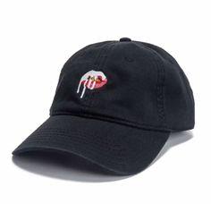 Black Kylie Cosmetics Logo Hat  - Seventeen.com