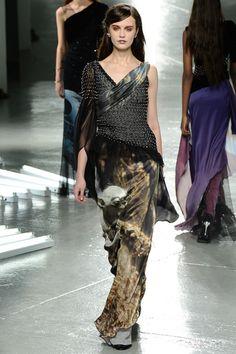 Every lady needs a Yoda evening gown. Rodarte Fall 2014 Ready-to-Wear. Yay, fashion week!