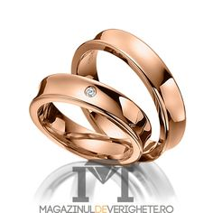 Verighete aur roz 5.5mm MDV5084 #verighete #verighete5mm #verigheteaur #verigheteaurroz #magazinuldeverighete Bijoux Louis Vuitton, Couple Rings, Bangles, Bracelets, Gold Rings, Wedding Rings, Rose Gold, Engagement Rings, Jewelry