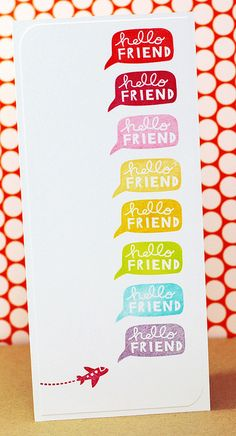 Lovely, colorful card by Kryssi. Must try this!
