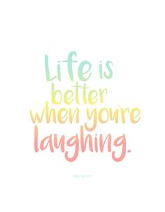 Más que palabras ©blamag Life is better when you& laughing. Uplifting Quotes, Positive Quotes, Motivational Quotes, Inspirational Quotes, Positive Feelings, Positive Mind, Quotes For Kids, Quotes To Live By, Relax Quotes