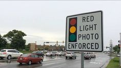 Drivers on southbound Rand Road still had to contend with a red-light camera just ahead at Deer Park Boulevard in Deer Park on Thursday. However, that device and another red-light camera on Deer Park Boulevard at Rand Road will be shut off Friday.