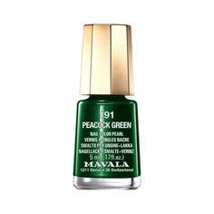 Mavala nail polish in Peacock Green