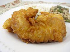 Tempura Chicken Fingers | Plain Chicken