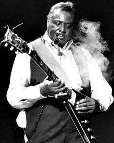Albert King, his blues lines were like Ernest Hemingway's writing. Concise with no bs showing off, just straight to the truth.