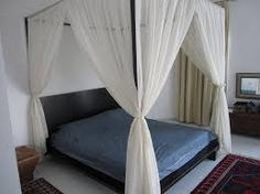 sheer curtain canopy - Google Search