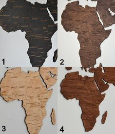 ON SALE Travel Lover Gift Wall World Map Wooden Big Map of the