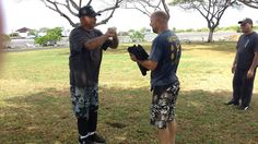 Mike Pollard awarded Black Shirt Instructor Level at Pacific Wing Chun Kung Fu Association, Kailua Kona, Hawaii.