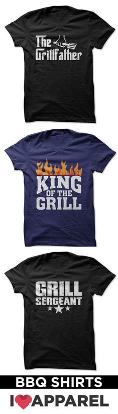 Show who is in charge of the grill with our huge selection of grill shirts.