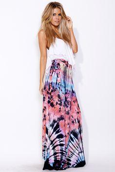 indah cozumel tie dye skirt - $149  https://shopindah.com/Products_Detail.php?ProductID=5189