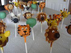 safari cake pops - Buscar con Google