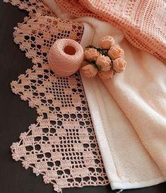 Wide Alcestra Lace pattern by A. Crochet Scarf Easy, Crochet Lace Edging, Crochet Borders, Thread Crochet, Irish Crochet, Hand Crochet, Crochet Stitches, Crochet Patterns, Lace Doilies