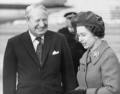 Edward Heath, UK prime minister, 1974 | Queen Elizabeth II Pictured With World Leaders During Her Record-Breaking Reign British Prime Ministers, Royal Queen, House Of Windsor, Queen Of England, Save The Queen, Prince Philip, World Leaders, King George, Buckingham Palace