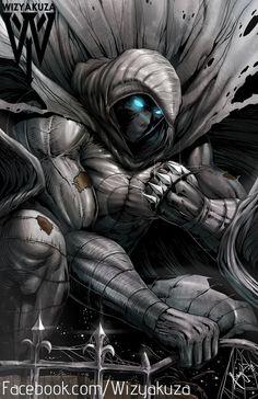 Caballero de la luna - Marvel Comics - impresión Digital de 11 x 17