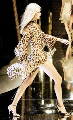 Julia Stegner/Dolce & Gabbana ... repinned by Jourdan Dunn, follow more content at http://pinterest.com/shop4fashion/hottest-of-the-honey-pot/