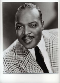 Count Basie / 1st Black Male Artist to win a Grammy in 1958 (jazz pianist, composer, bandleader)