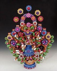 Arbol de la Vida, Tree of Life, Mexican Folk Art