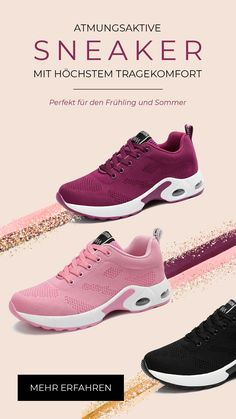Breathable sneaker with highest wearing comfort. The Solene sneaker combines . Air Max Sneakers, Sneakers Nike, Baskets, Gymnastics Workout, Fashion 2020, Golden State Warriors, Nike Free, Nike Air Max, Stephen Curry