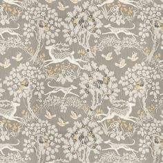 Kravet Lee Jofa Mille Fleur Silver Custom Pillows with Self Welting (Both Sides-comes in 4 colors) Deer Wallpaper, Pattern Wallpaper, Custom Drapes, Custom Pillows, Deer Fabric, Textiles, Fabric Houses, Japanese Prints, Arts And Crafts Movement