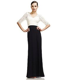JS Collections Lace & Crepe Gown   Dillards.com  One day, I'll wear this for my Senior Showcase... Time to start saving!