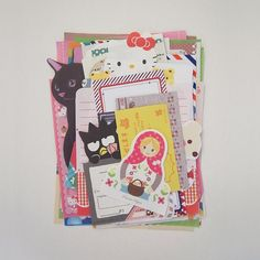 scrap kitsch japanese clipping new and old stationery paper